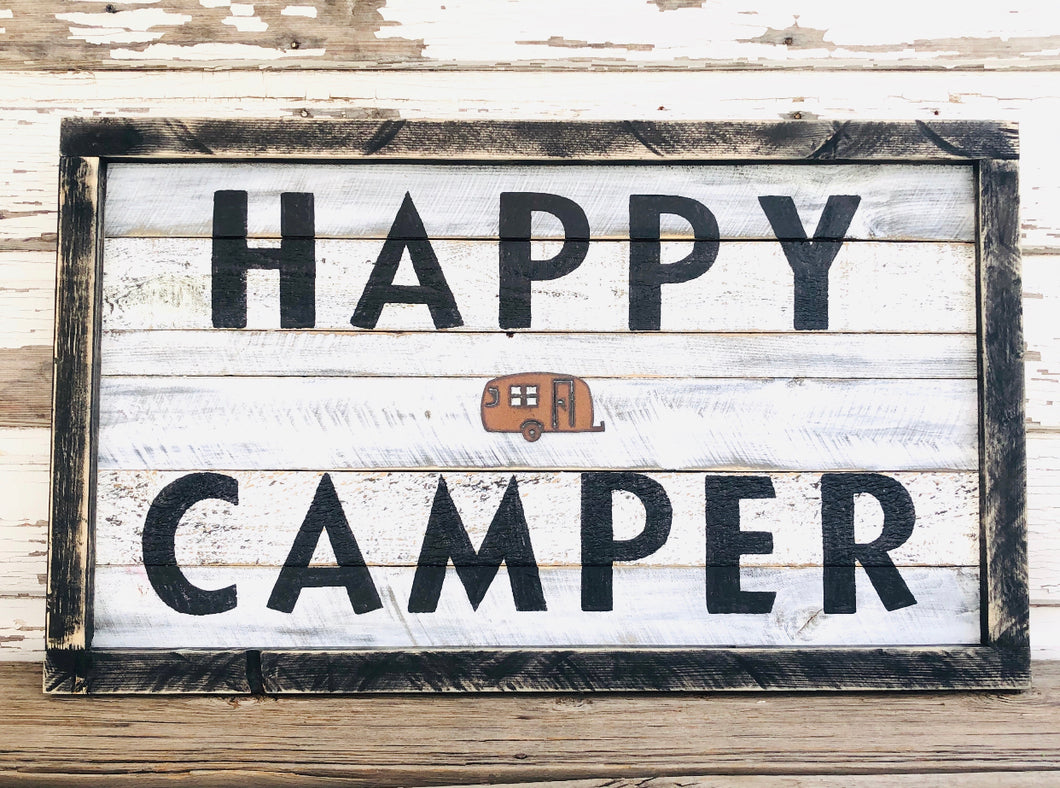 Happy Camper Sign SKU#923209