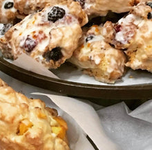 Load image into Gallery viewer, 1/2 Dozen Mixed Berry w/ Lemon Scones