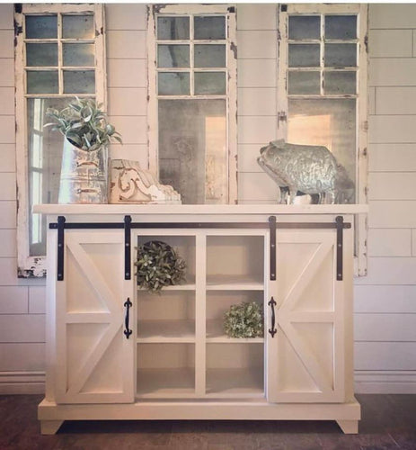 Modern Farmhouse Custom Console