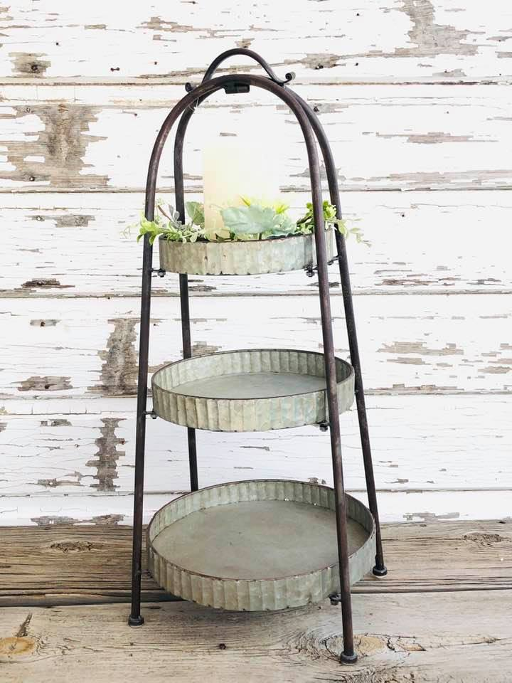 Tall 3 Tier Tray