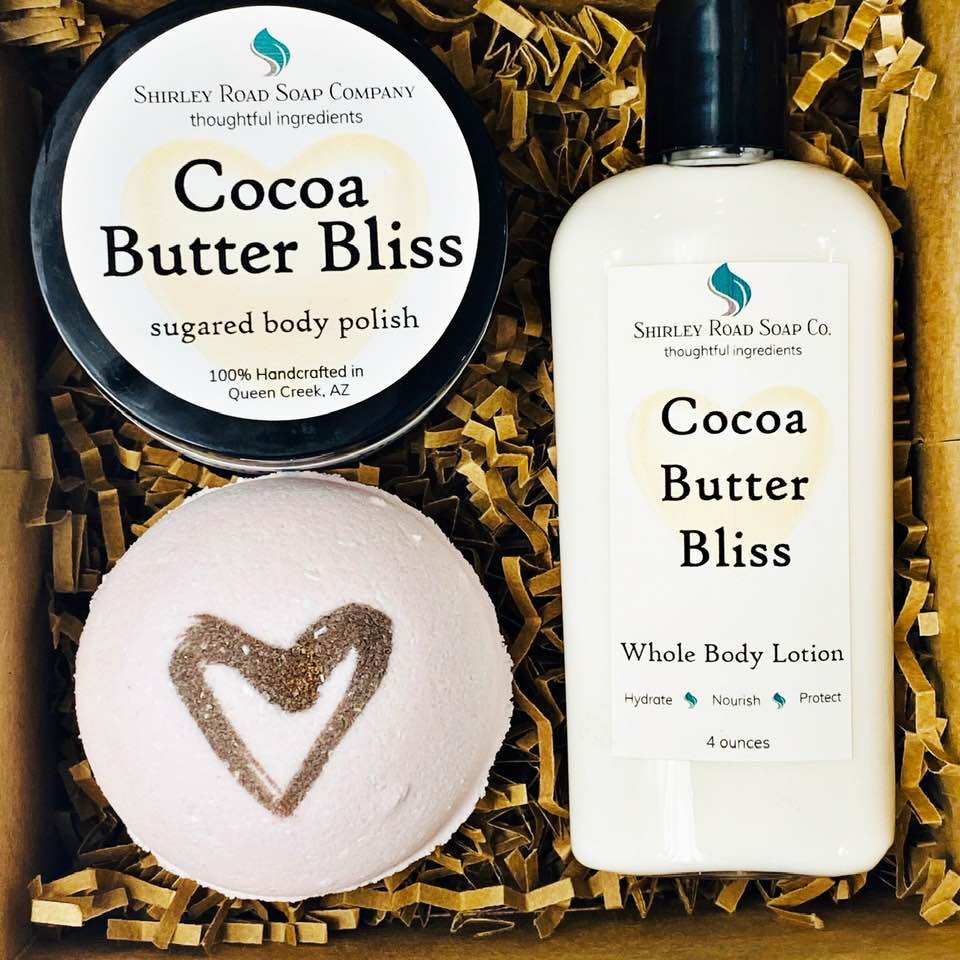 Mother's Day Gift Box - Cocoa Butter Bliss