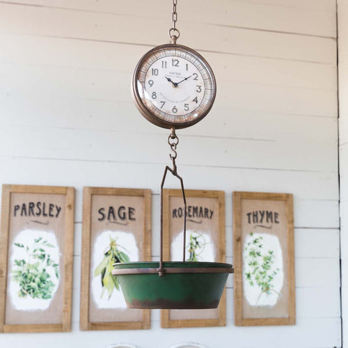 Green Hanging Scale SKU#414116