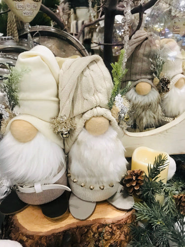 Handcrafted Winter Gnomes