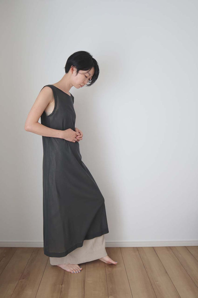 NKCD01 : Cotton Tule Mesh One-piece