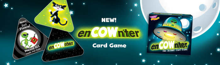 Fun new family game enCOWnter by TREND