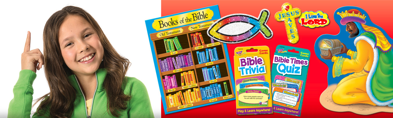 Christian Classroom Sunday School Bulletin Board Decorations and Stickers