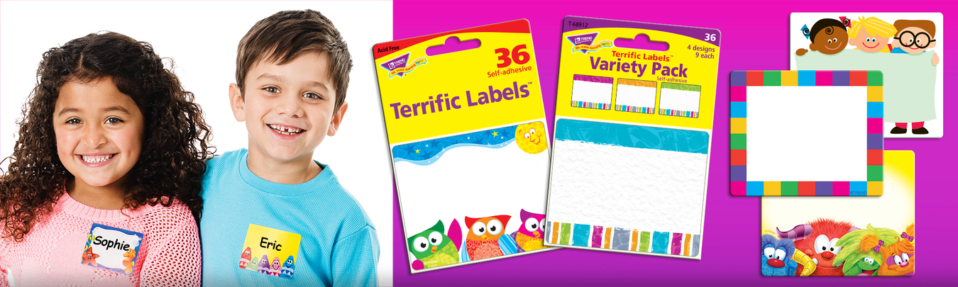 Name tags for school, parties, reunions, conventions, & conferences