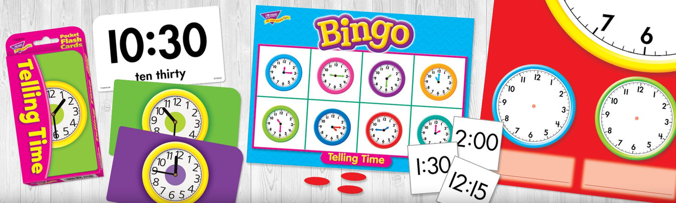 Special education time management learning fun products