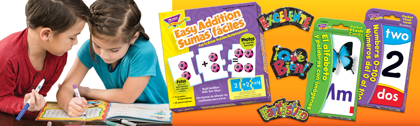 Español flash cards, learning games, and Spanish products for teaching the Spanish language