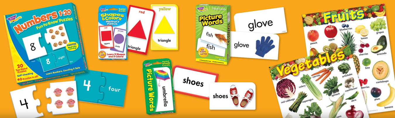 Special education visual supports learning FUN products for home and school
