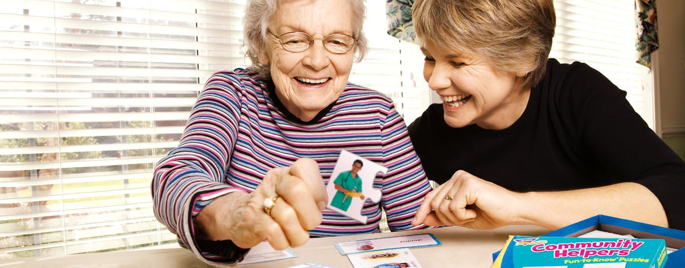 memory care alzheimer's dimensia activities and games