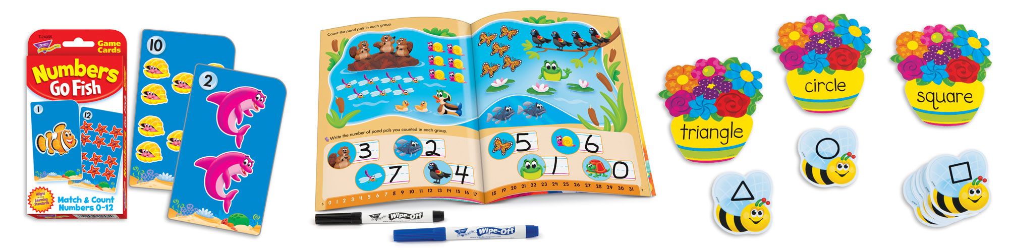 Products for kindergarten math skills practice