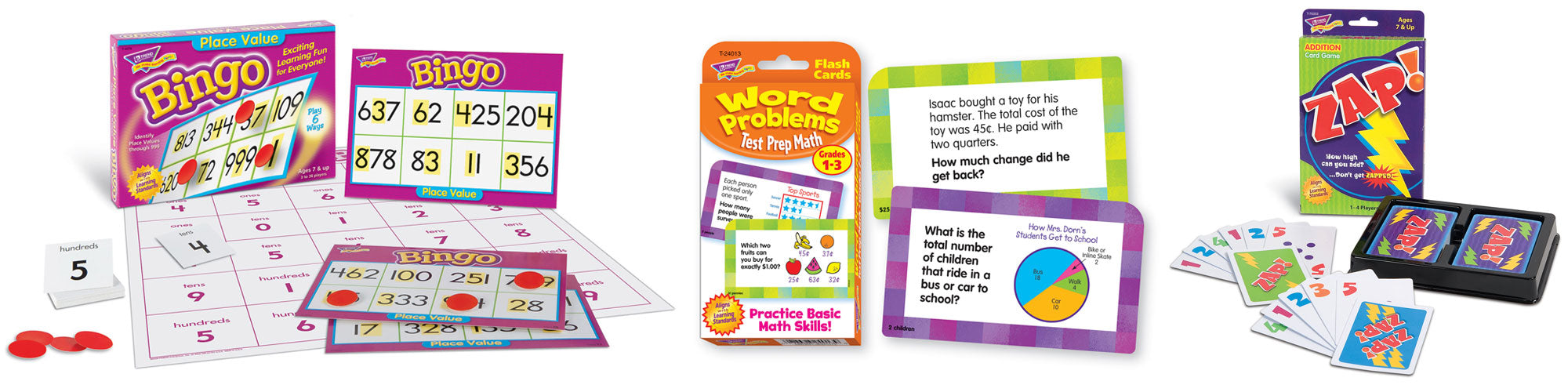 Products for 2nd grade math skills practice