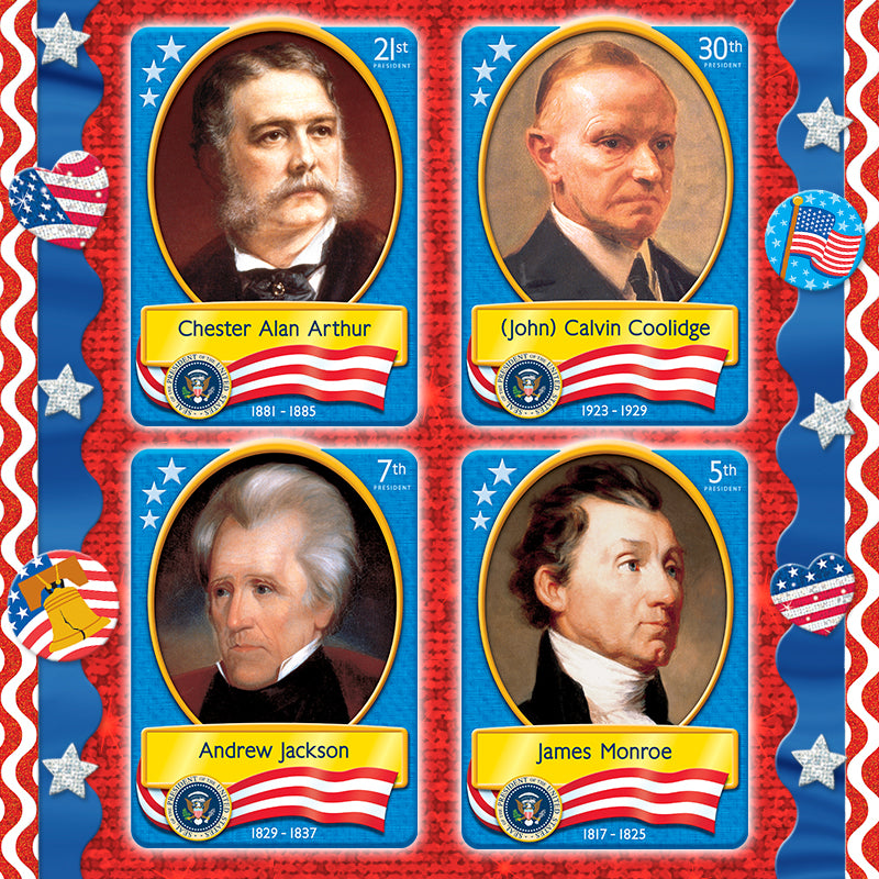 Trivia questions about US Presidents. Free Presidents Day trivia game.