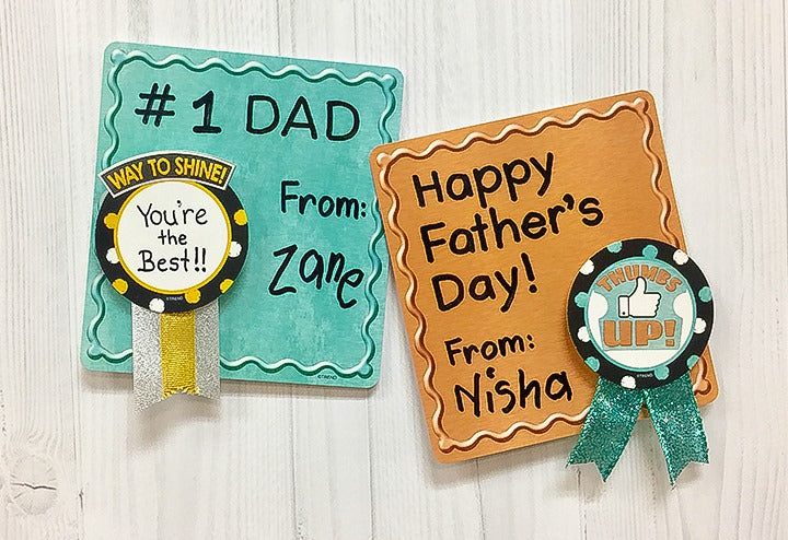 DIY awards for Father's Day