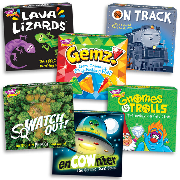 6 new board games for family game night
