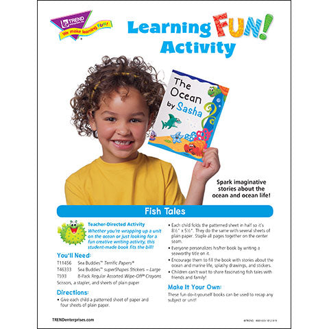 Fish Tales Learning Fun Activity