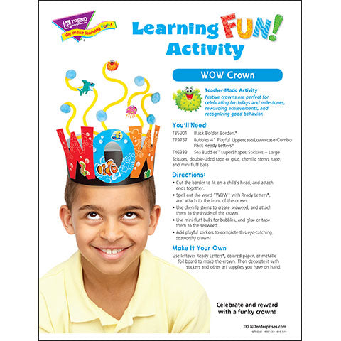WOW Crown Learning Fun Activity