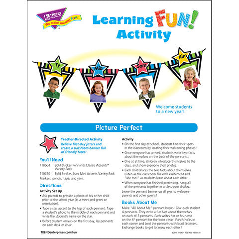 Picture Perfect Learning FUN Activity