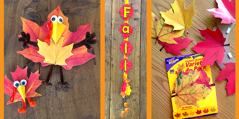easy fall leaf projects paper leaves for kids halloween easy diy