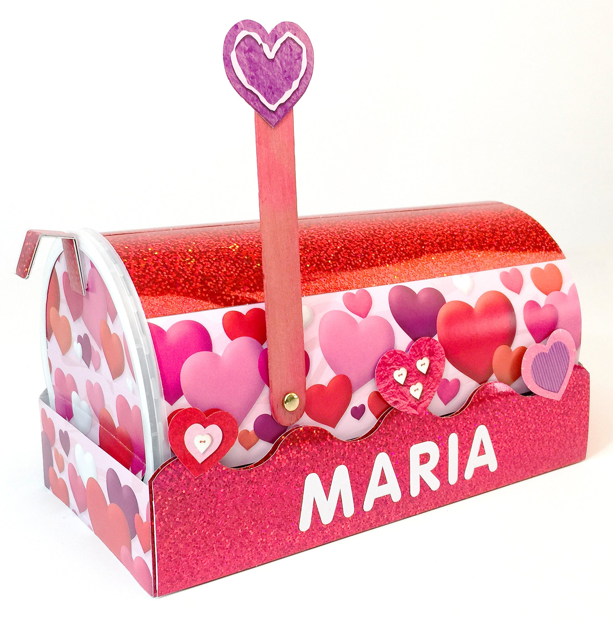 how to make a valentines card box ideas DIY party mailbox