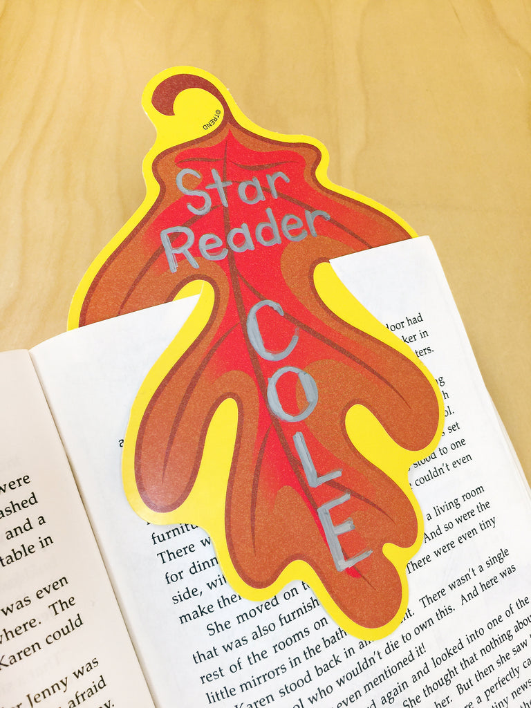 fall autumn leaf leaves projects for kids bookmark diy