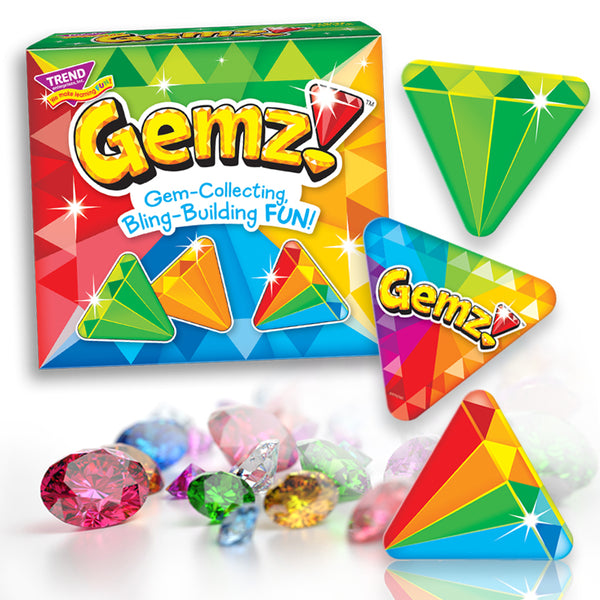 Gemz! fun family card game for all ages