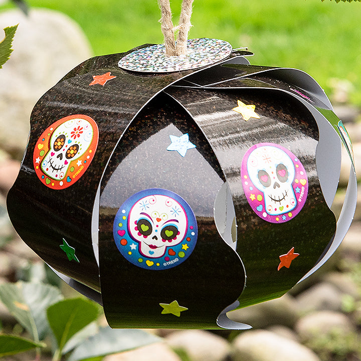 Day of the Dead DIY Halloween tree decoration easy
