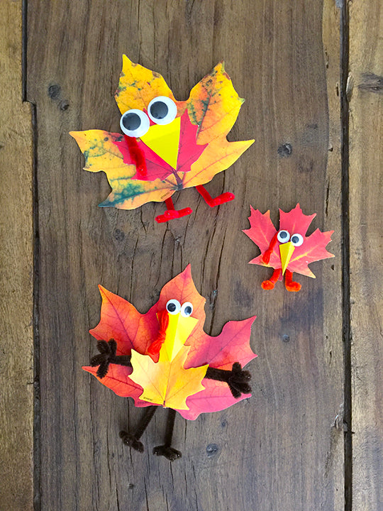 easy fall leaf projects for kids diy