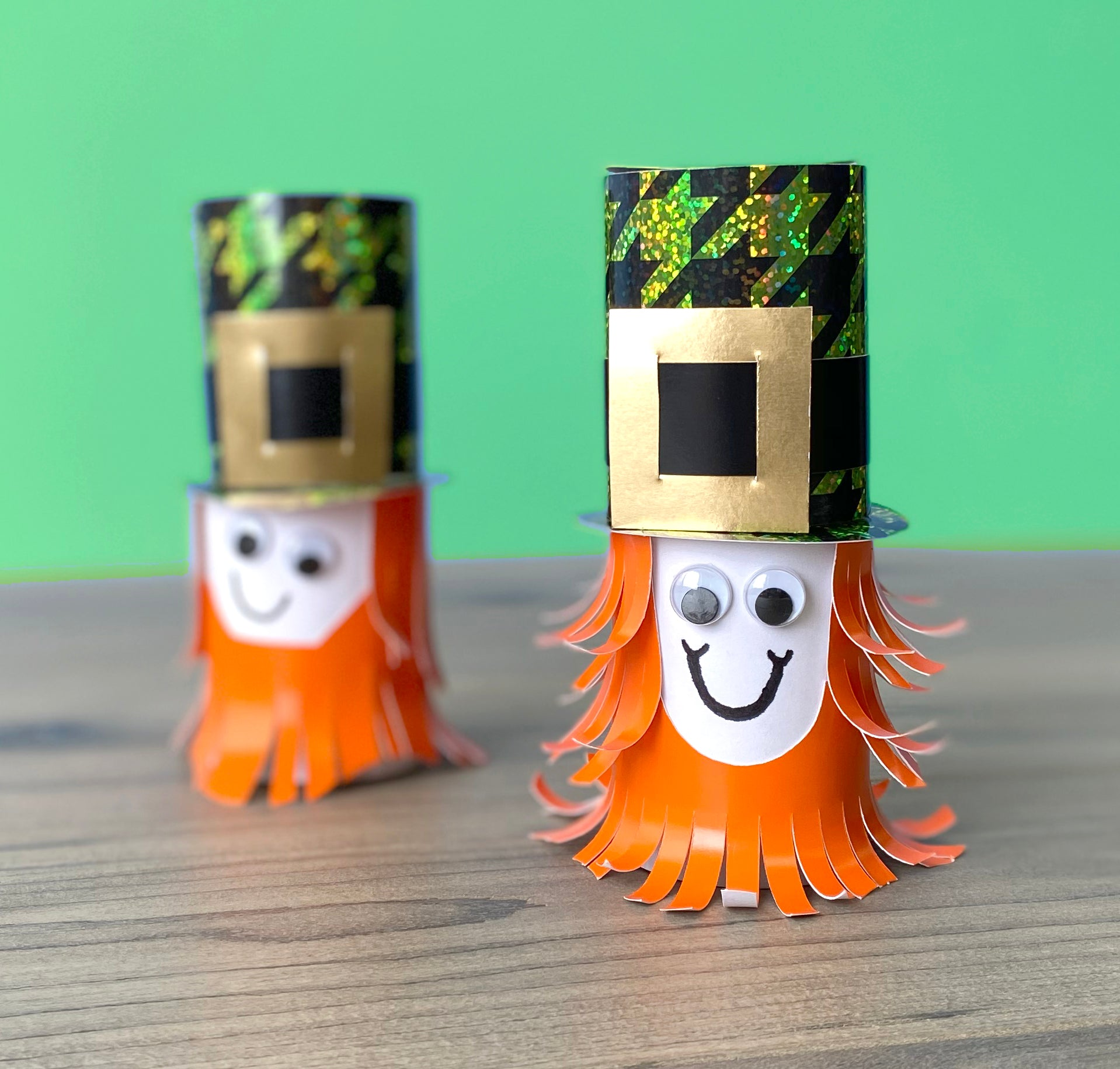 Easy St. Patrick's Day kid projects leprechaun DIY march elementary school