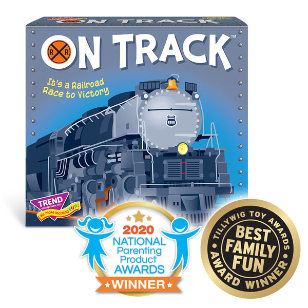 On Track new family railroad theme game by TREND