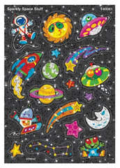 Sparkly Space Stuff Sparkle Stickers® – Large
