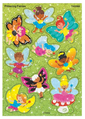 Flittering Fairies Sparkle Stickers® – Large