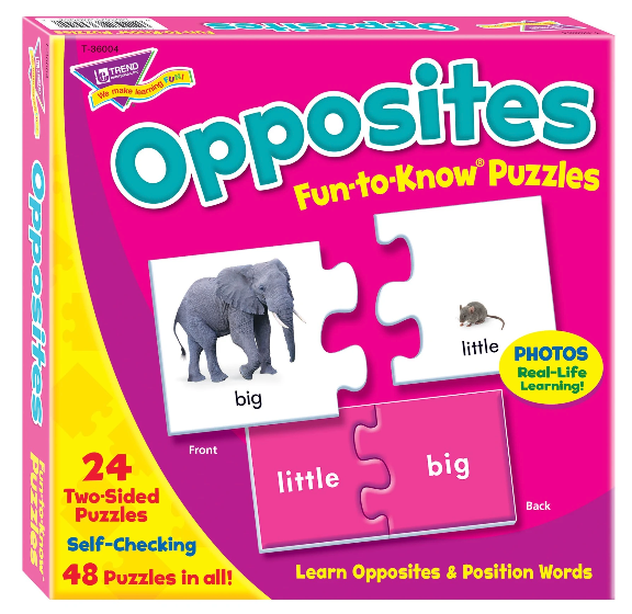 Opposites Fun-to-Know Puzzles