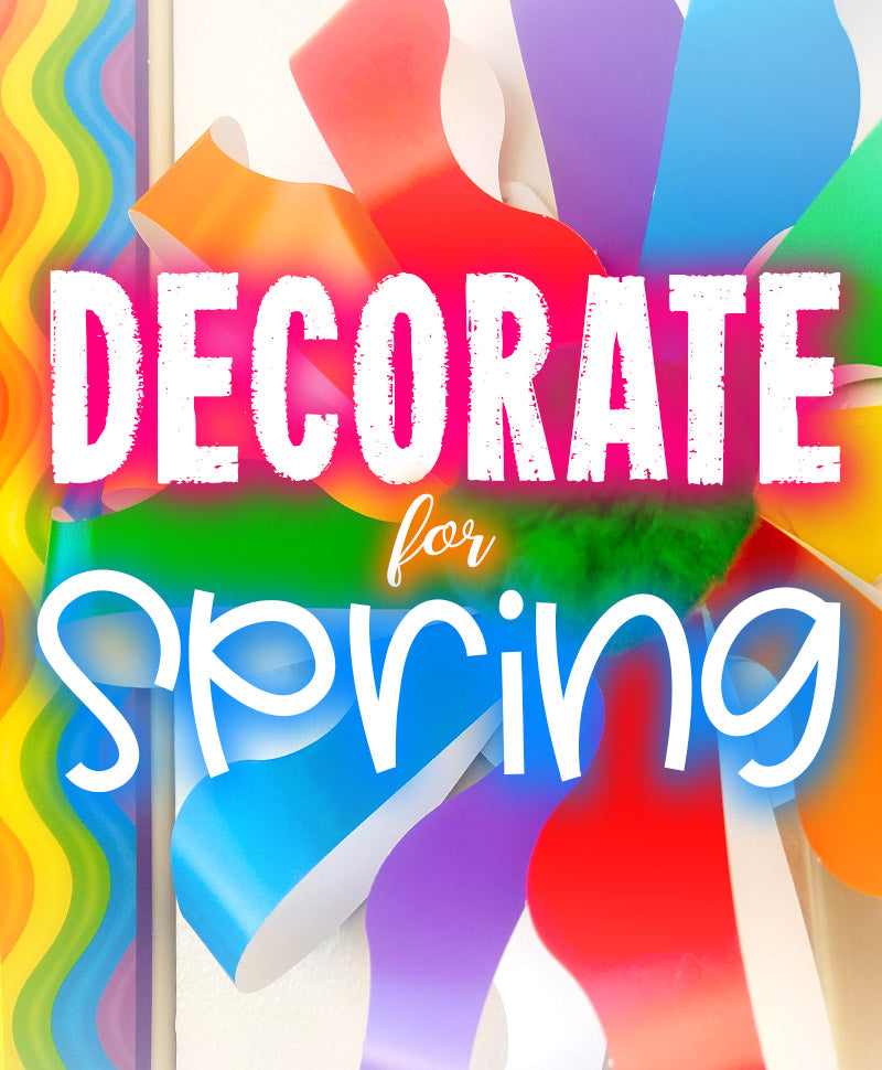 decorate your classroom for spring