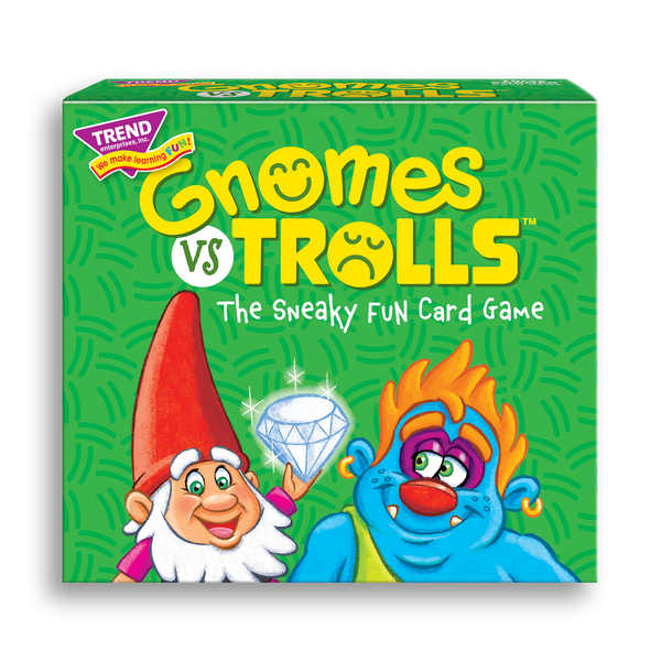 GNOMES vs TROLLS™ best new board game for families