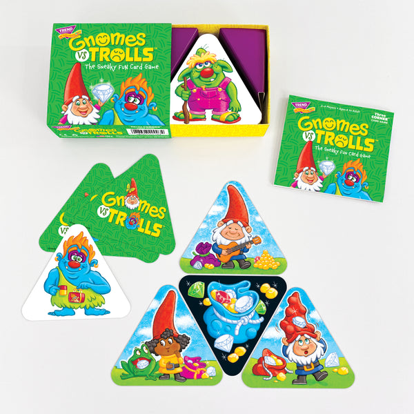 GNOMES vs TROLLS™ fun card game for families at home during pandemic