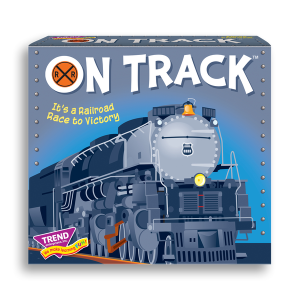 ON TRACK™ best new board game for families