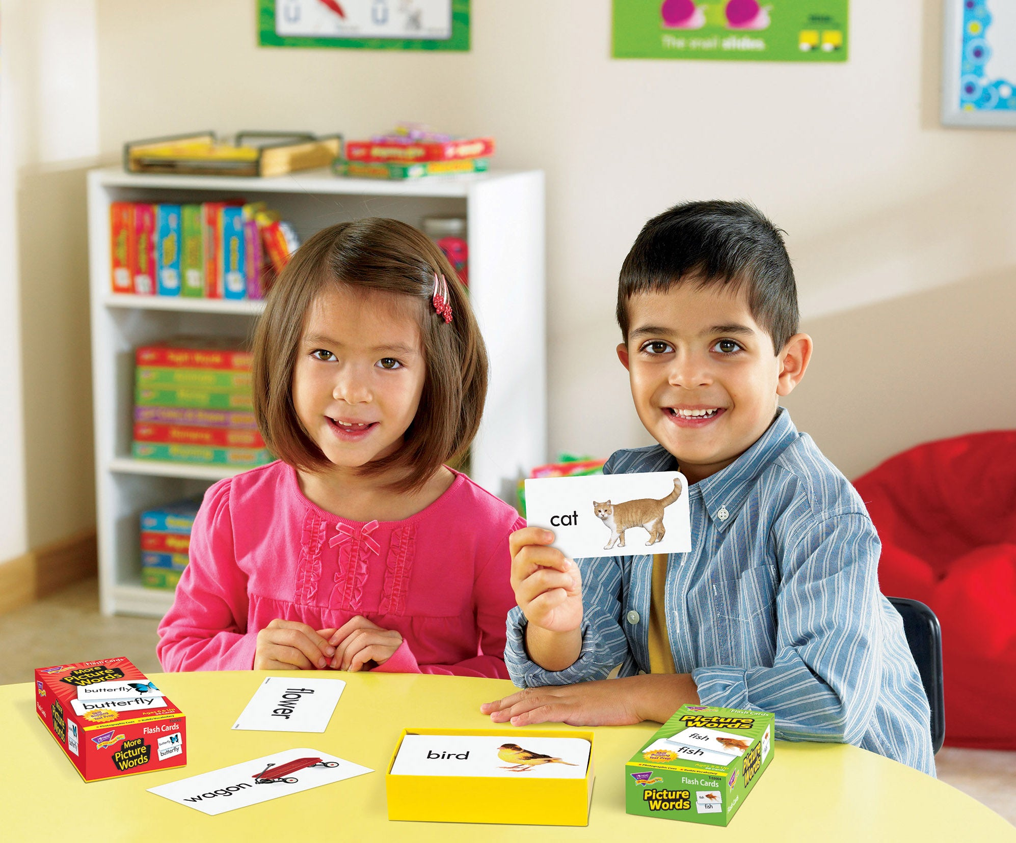 Flash cards for distance learning at home made in USA teaching products