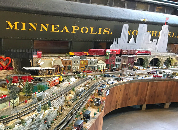 Minnesota Transportation Museum model train