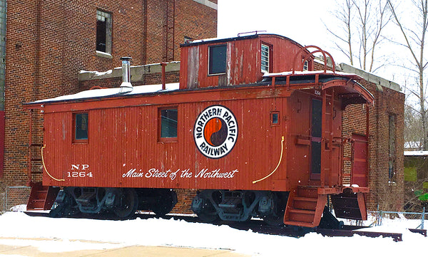 Train at the Minnesota Transportation Museum