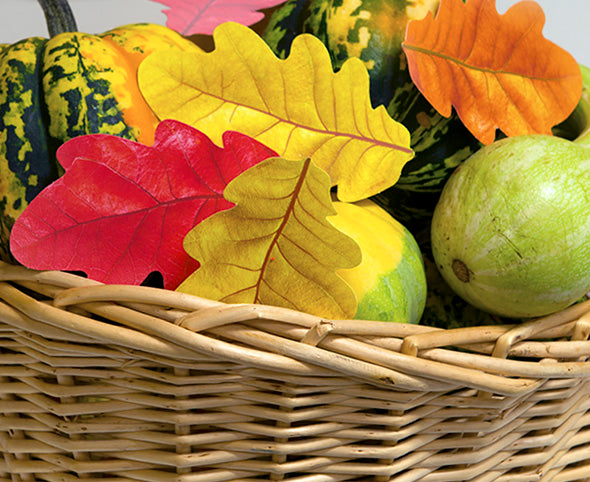 fall halloween thanksgiving centerpiece easy diy paper leaves