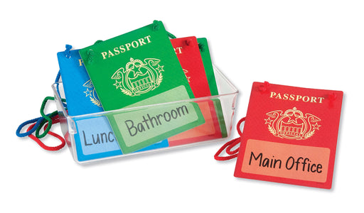 A0995 Passport Hall Passes Learning FUN Activity