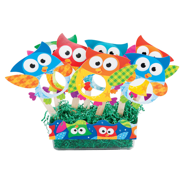 A0996 Owl Stars Magnifying Glasses Learning FUN Activity