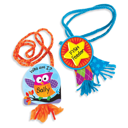 A0998 Nifty Name Tags or Job Tags Learning FUN Activity
