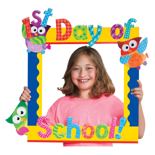 A1021 First Day Photo Frame Learning FUN Activity