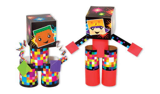 A1035 Learning FUN Activity Pixel Robots