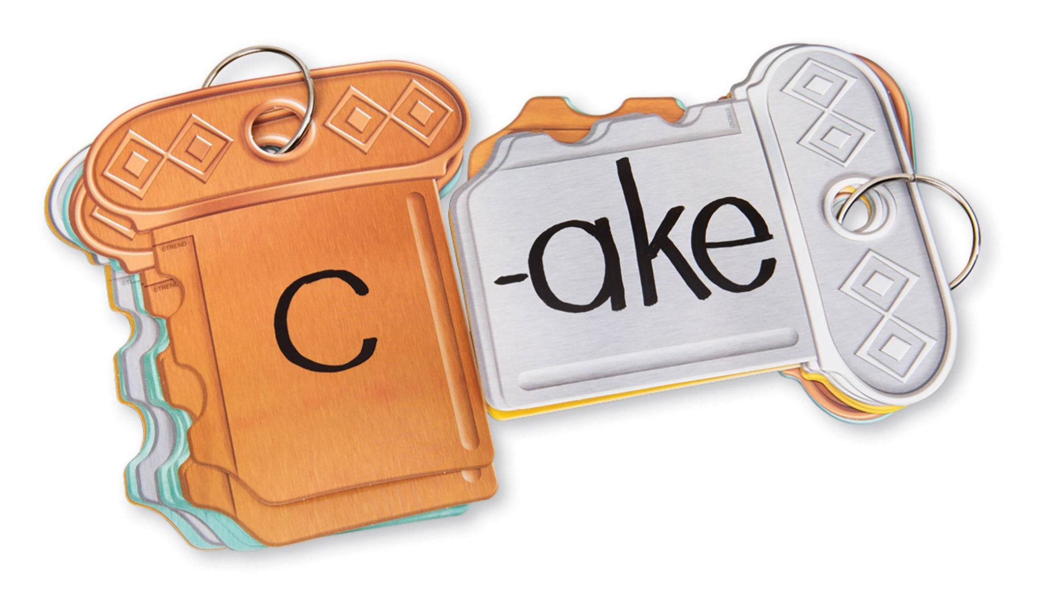 A1095 Key Words Key Ring Learning FUN Activity