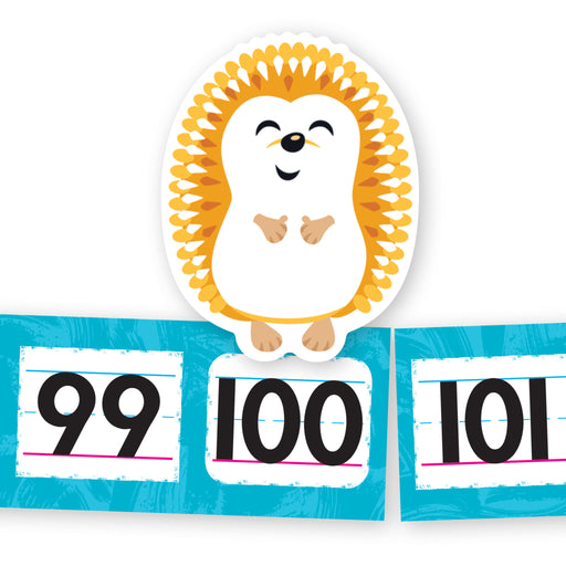 A1098 Hedgehogs 100-Day Hop Learning FUN Activity