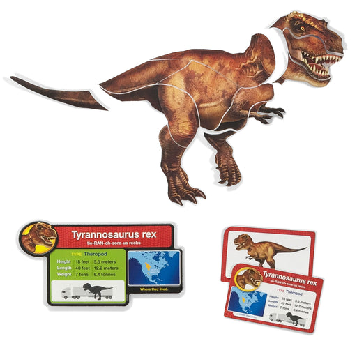 All About Dinosaurs Puzzle Play Learning FUN Activity